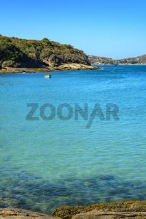 Blue ocean in Buzios