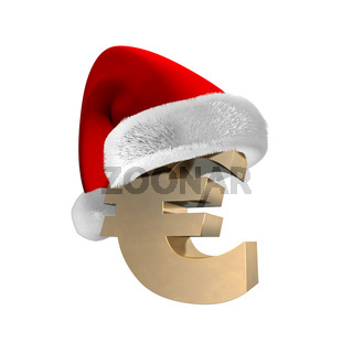 Euro Santa Cap 3D