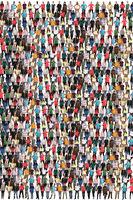 Leute Menschen People Gruppe Menschengruppe Menschenmenge multikulturell Hintergrund