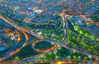 Tehran road system, Iran