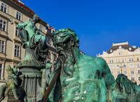 Statue in Vienna Austria