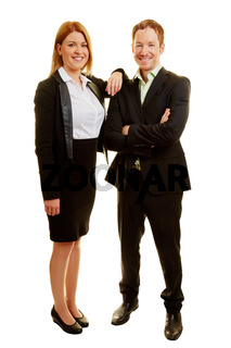 Zwei Business Berater als Team