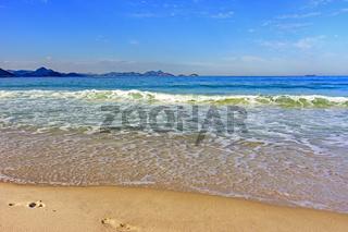 Copacabana horizon and hills