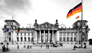 Bundestag color-key