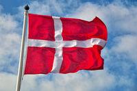 dänische Nationalflagge
