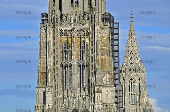Foto Ulmer Münster Mit 161 53 Metern Der Höchste Kirchturm Der