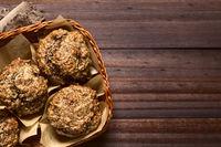 Banana Oatmeal Walnut Muffin