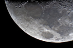 Mond - Teilansicht - part of moon