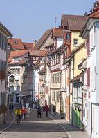 Straße in der Überlinger Altstadt
