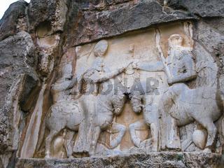 The investiture of Ardashir Naqsh-e Rustam, Persepolis ruin Iran