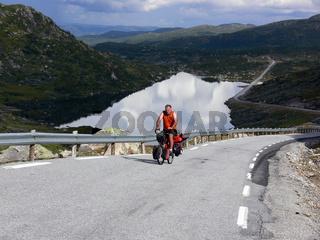 Fahrradtrip in den Bergen