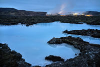 Majestic Blue Lagoon in Iceland
