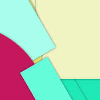 modern layered flat shapes background