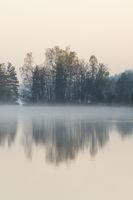 bei Tagesanbruch... Morgenstille am See *Südschweden*