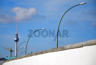 berlin wall and tv-tower