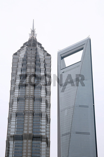 Jin Mao Tower und Shanghai World Financial Center, Shanghai