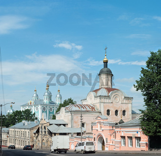 Smolensk Cathedral Church and Troitsky Monastery