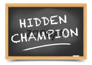 Blackboard Hidden Champion