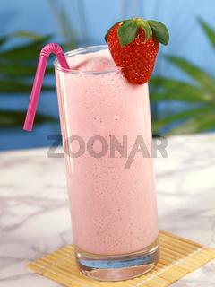 Erdbeermilchshake