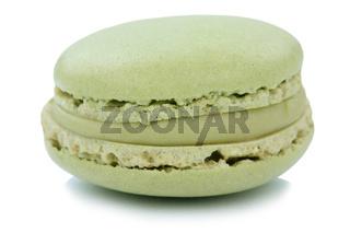 Pistazie Macaron Macaroon Keks Nachtisch Dessert aus Frankreich Freisteller