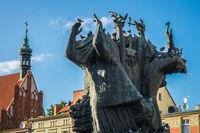 Monument called Pomnik Walki i Meczenstwa Ziemi Bydgoskiej
