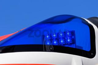 Blaulicht eines RTW