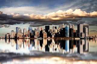 New York - Spiegelbild