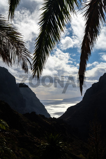 view on ocean from Masca village