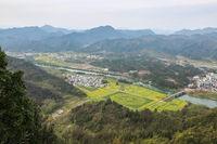 qiyun mountain landscape in spring