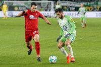 1. BL: 17-18 - 12. Spieltag - VfL Wolfsburg  vs SC Freiburg