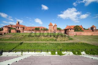 The Malbork Castle (Marienburg)