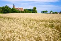 Dorfkirche Kietz,  Gemeinde Lenzerwische, Brandenburg, Deutschland