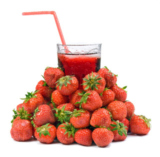Fruit Juice with Strawberry