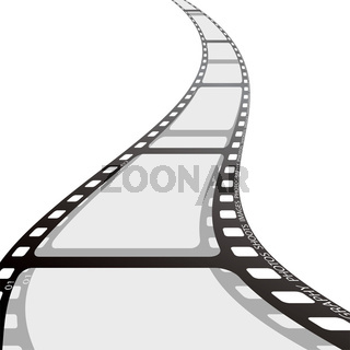 film strip reel wave