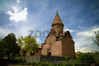 Exterior view to Saint Marianeh Church, Ashtarak, Aragatsotn Province, Armenia
