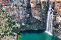 Berlin Falls an der Panorama Route, Mpumalanga, Südafrika