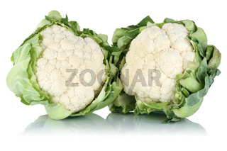 Blumenkohl Gemüse Freisteller freigestellt isoliert