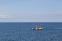 Sailboat in the Baltic Sea