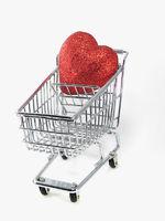 Shopping Cart Heart