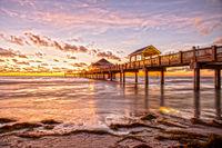 Sonnenuntergang Clearwater Beach Florida