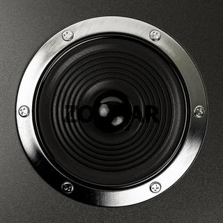 sound speakers stereo system Hi-Fi 3d illustration