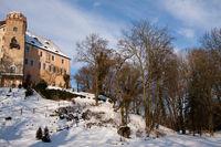 Schloss Püchau im Winter