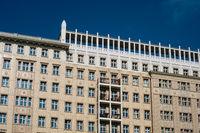 residential building exterior in Berlin - building facade -