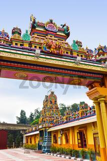 Hindu temple at Kuala Lumpur Malaysia - religion symbol