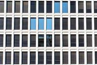 Fassade eines modernen Bürogebäudes in Berlin