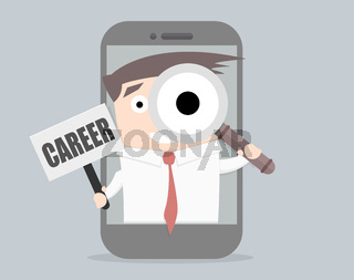 businessman career search