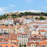Lisbon cityscape Portugal