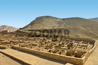 Egypt Deir al-Medinah Valley Of The Workers
