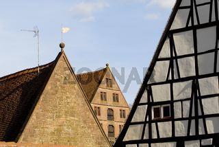 Dächer des Kloster Maulbronn