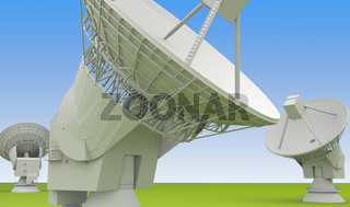 large radio antenna